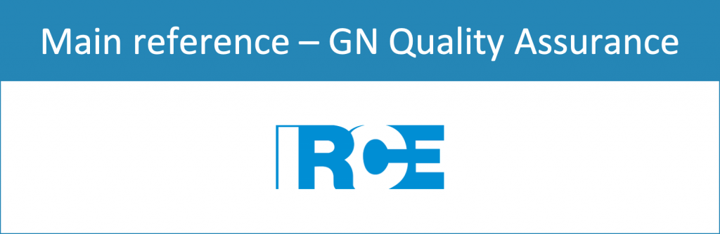 GN Quality Assurance - Main reference